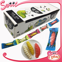 Silkworm Shape Soft Jelly Candy