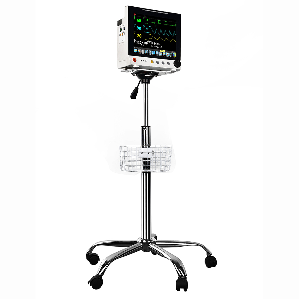 Heavy Duty durable patient monitor with trolley