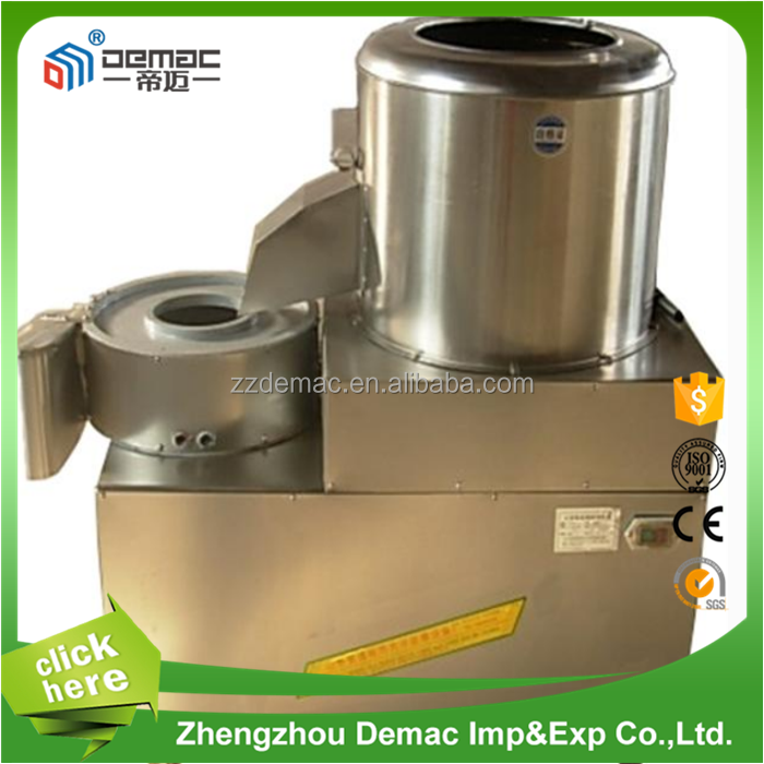 For Vegetable!! Automatic potato cleaning peeling and cutting machine for sale