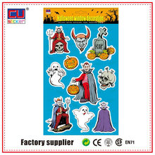 Decorative Glass Halloween Window Gel Stickers
