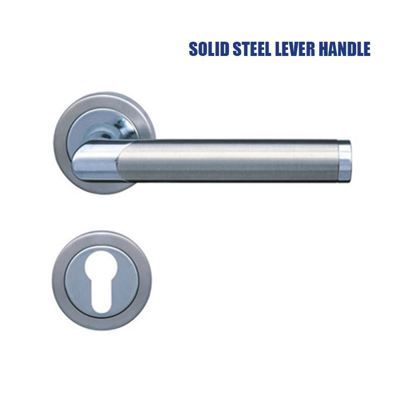 stainless steel solid steel lever handle