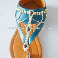 2013 Hot rhinestone starfish ladies sandal shoes dora charms