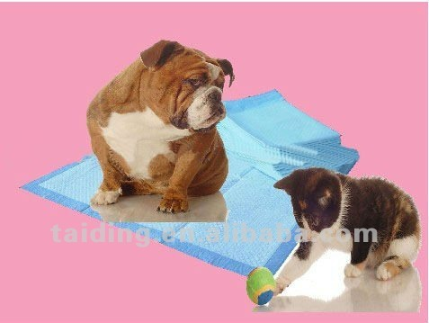 quilted disposable puppy pet training pad