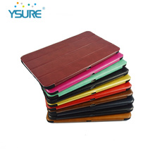 2016 New Products Pu leather cases for tablet 9.7 inch with big Magnet