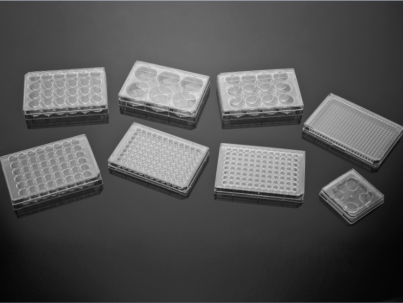 96 Well Surface-treated  Cell Culture Plates with Flat Well Bottom