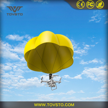 Tovsto Flying Drone Parachute with resistant cloth and solid fuselage
