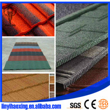 Cheap building materials/Hot sale aluminium material roof tiles by India