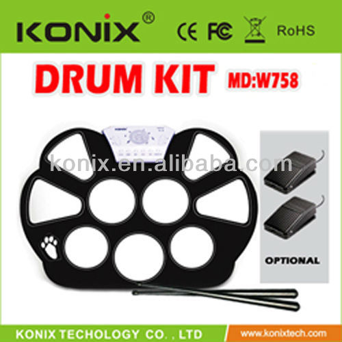 roll up drum from konix