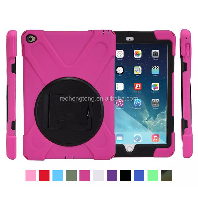 2015 Popular Design Custom Tpu+pc Tablet back cover Shockproof case for ipad air 2