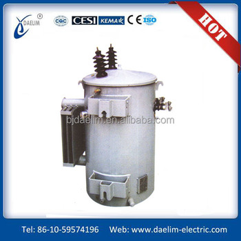 pole mounted 10kva single phase distribution transformers