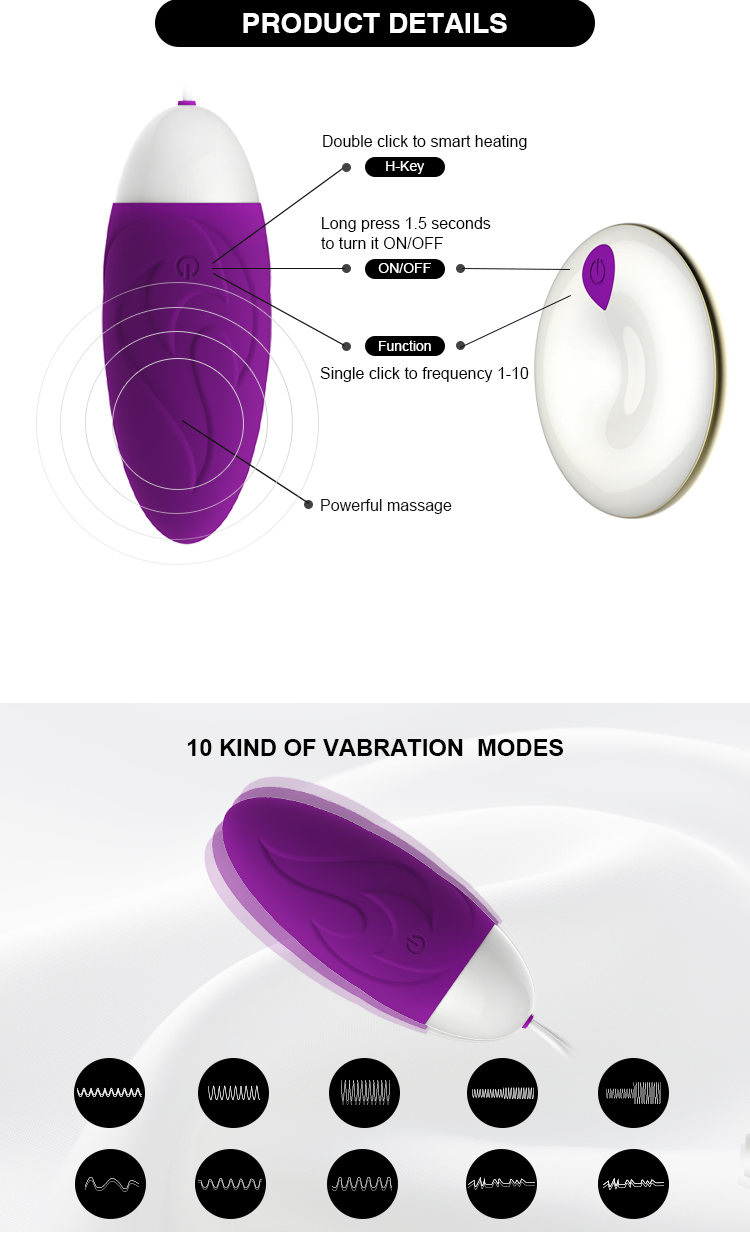 Sex Toy For Female Personal Wireless Bullet Vibrator