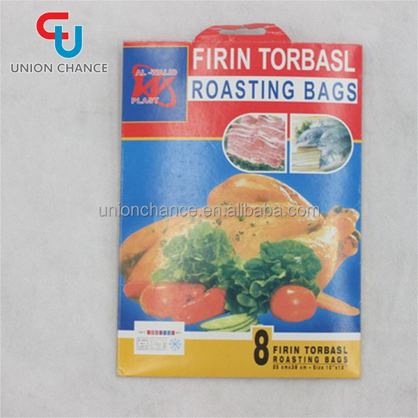 PE Roasting Bag Non-stick Woven Roasting Bag Hot Roast Chicken Bag