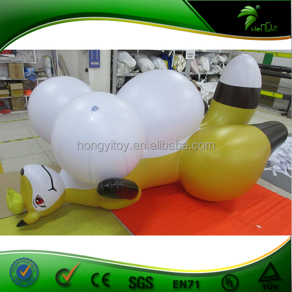 Giant Inflatable Big Boob Sexy Inflatable Fox Toy, Sex Inflatable Cartoon Fox Balloon Cartoon From Hongyi Factory