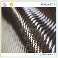 Carbon Fiber 3K Twill Woven Fabric 200g/m2 240g/m2 0.26mm 0.28mm Thickness 5 counts/cm Carbon Yarn Weave Cloth