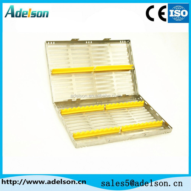 China dental sterilization cassette/ dental instrument disinfection box B007b