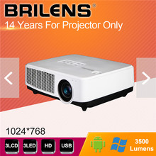 120w power supply 50000:1 contrast ratio 3500 lumens cheap led projector