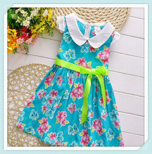 Girls Dresses with Flower girls summer dresses dance costume summer baby girl big kids clothes for 2 4 6 8 10 years old