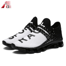 New model your own brand logo man fashion comfortable sport casual shoes