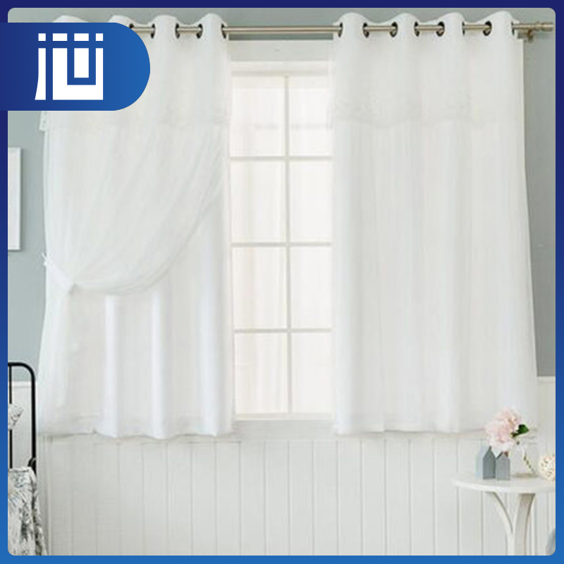 Wholesale fashionable christmas curtain material home curtains panel