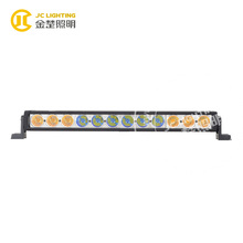 led light bar amber and blue light bar for 4wd offroad trucks