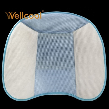 wellcool x-90 supporting breathable 3d sitting blue spacer fabric cushion