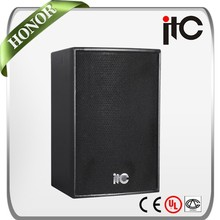 "ITC TS-10S 250W 8 ohm 10"" 2.0 Professional Night Club Speakers"