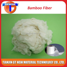 1.4D raw bamboo fiber price, raw bamboo fiber, bamboo fiber cloth fiber for spunlace nonwoven