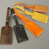 Leather Luggage Tags Wedding Favor