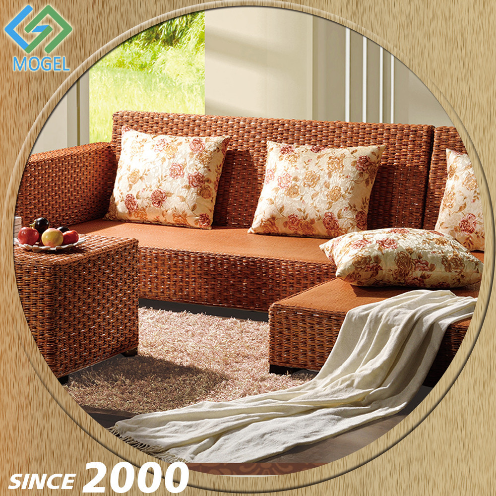 Foshan Supplier Rattan Sex 2015 Latest Sofa Design Living Room Sofa