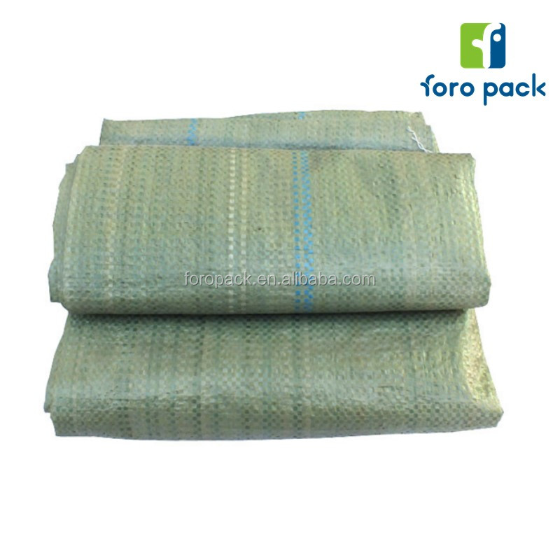 High quality recycled pp woven bags /sack for25kg cement,flour,rice,fertilizer,food,feed,sand