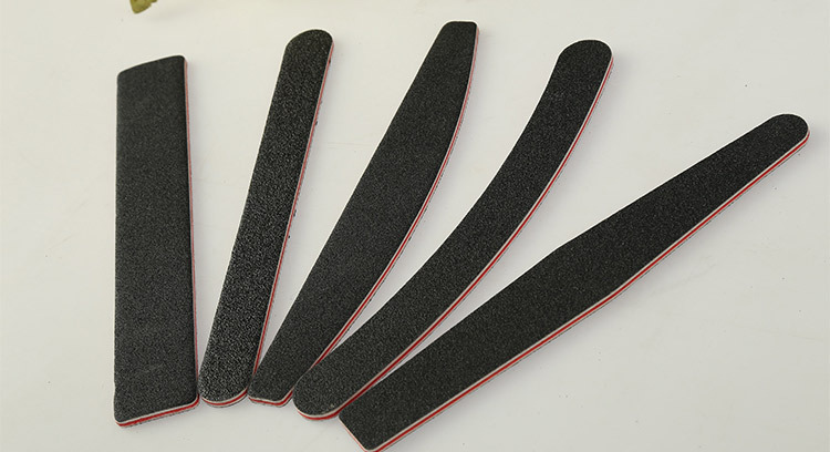 Nouveau professional black nail file for nail salons