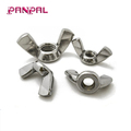 Hot sale customized sizes and package iron zinc plated wing nuts
