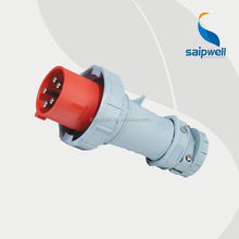 Saip/Saipwell Male IP67 3 phase 63A 5Pin waterproof industry plug connector