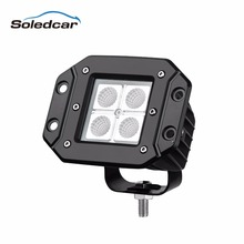 LED Worklight 12W 18W 27W 48W 80W 12 Volt LED Tractor Flood Spot Work lights Tractor Ttail Light