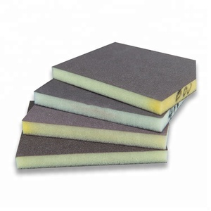 Cheap grinding sanding polishing sponge sand paper blocks