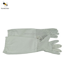 beekeeping leather glove/bee protective glove