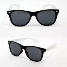 New Made in China Black Frame white Temple Acetate Sunglasses for Sale YJ-S0100