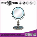 JM907 LED lighting mirror table mirror standing mirror double side magnifying