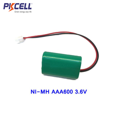 triangle ni-mh battery pack 3.6v rechargeable aaa 600mah battery cell