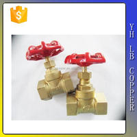 red handwheel brass knife gate valve price