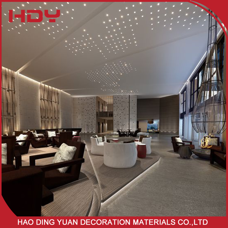 Environmental Protection Aluminum Perforated Ceiling Panel