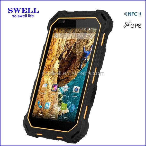 "S933 7"" NFC 3G IP68 waterproof scratch proof restaurant wireless ordering pda custom made tablets construction industrial device"