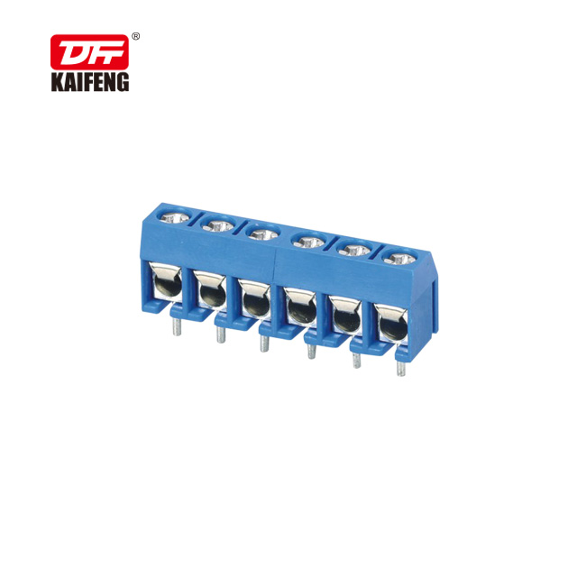 PCB wire protector terminal blocks free sample KF301V pitch 5.00mm