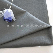 cheap pu litchi grain fake leather for shoes and bags,garments