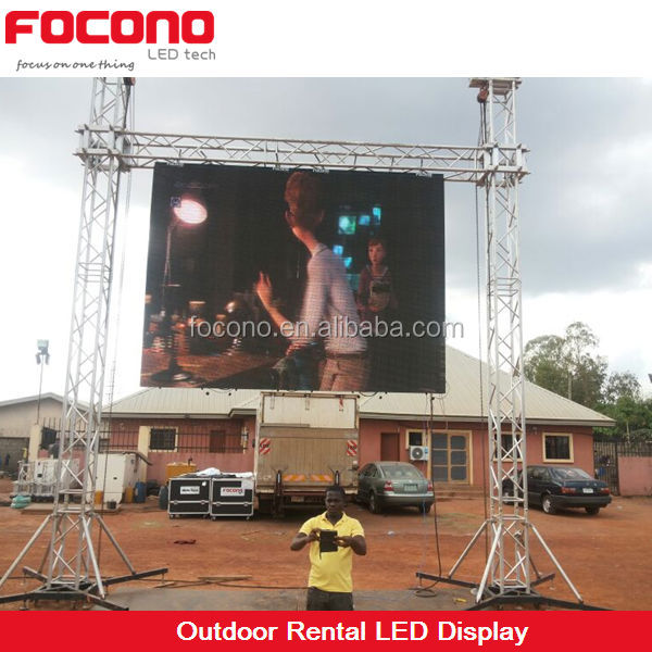 ce certified high definition display panel led tv outdoor