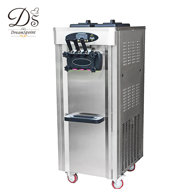 Competitive Price Luxury stainless steel 50L soft ice cream machine