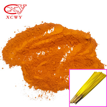 Application incense stick dyes yellow basic dyes strength 100% Auramine O