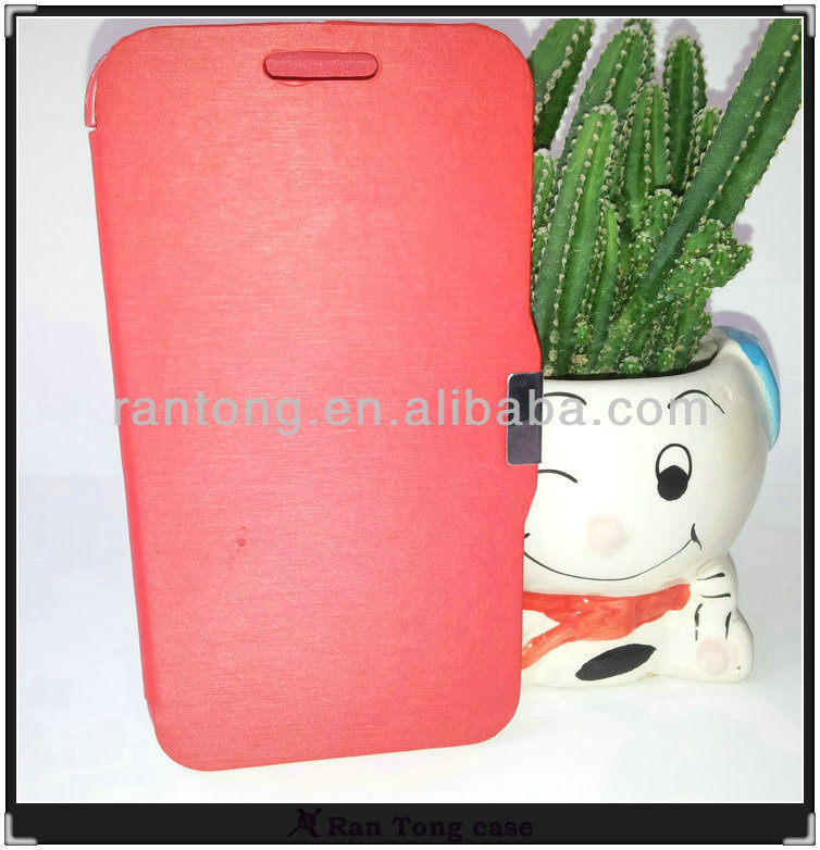 Wholesale luxury leather mobile phone Cover Case for Samsung Galaxy Note2 N7100