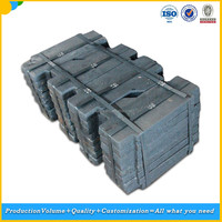 cast iron counter weight filler for elevator,external elevator