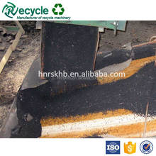 scrap waste tire recycling rubber powder crumb line plant